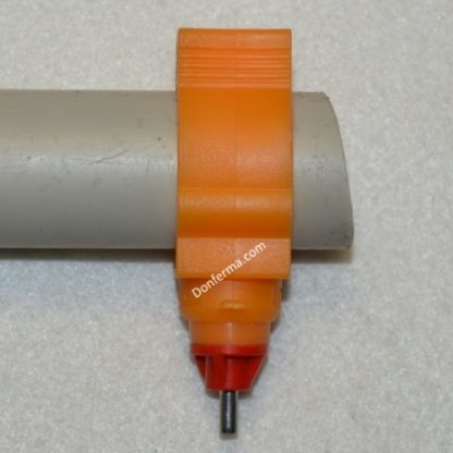 Ниппельная поилка на трубу 25мм
