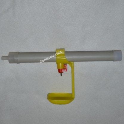 Штуцер и заглушка для трубы 25мм